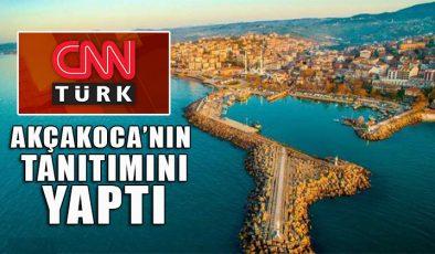 CNN Türk seyahat haberleri sayfasını Akçakoca'ya ayırdı