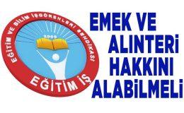 """""""Bu 1 Mayıs'ı Emeğin Onurunu Kurtarmanın Miladı Yapalım"""""""